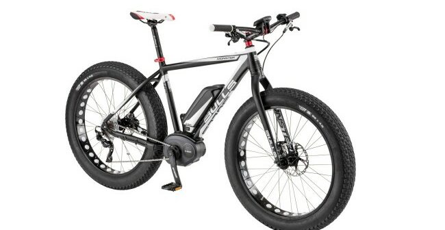 BULLS Monster Fat-Bike: E-MTB mit Bosch-Motor
