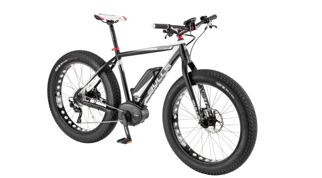 bulls monster fat bike e mtb mit bosch mittelmotor. Black Bedroom Furniture Sets. Home Design Ideas
