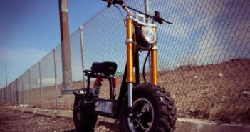 DAYMAK The BEAST: Off-Road-E-Bike mit Solar-Power