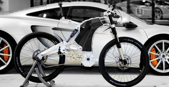 Terminus 55, das teuerste und schnellste E-Bike der Welt.