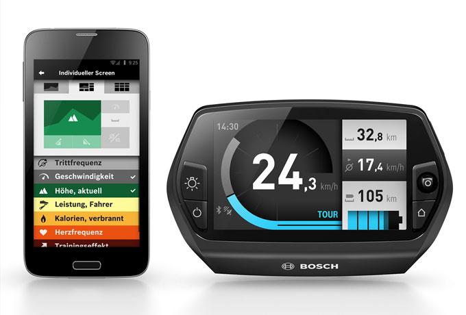 Der Nyon Bordcomputer wurde von Bosch extra für die Performance Line entwickelt und kann zusammen mit der eBike Connect App gesteuert werden.