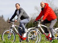 Zusammen mit seinem Bruder Thomas Rath hat Michael Rath das Unternehmen Bikee gegründet.