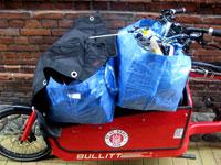 Auf der Ladefläche des Bullitt von Larry vs Harry kann man Lasten bis zu 100 Kilogramm transportieren.