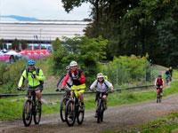 Auf dem Demo Day in Friedrichshafen können Fachbesucher und Journalisten die neuen Räder der Aussteller testen.