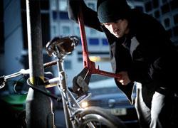 Wenn Ihr Fahrrad gestohlen wurde, sollten Sie sich schnell an die Polizei und den Versicherer wenden.