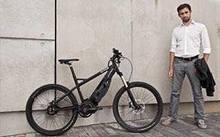 Das Grace MX ist ein Mountainbike mit Elektromotor.