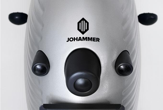 Das Rücklicht der Johammer Elektromotorrad J1 wurde harmonisch in das stylische Bike integriert