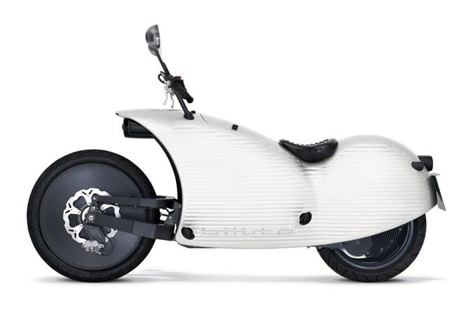 Johammer Elektromotorrad J1 Modell in weiss