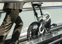 Das Q25 Faltrad von Klever Mobility ist optimal geeignet für mobile und flexible Menschen.