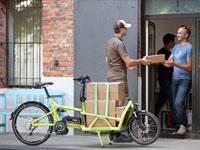 Mehr als die Hälfte aller gewerblichen Gütertransporte könnte auch mit einem Lastenrad getätigt werden.
