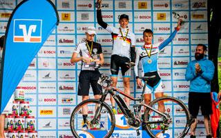 Das Haibike Team Wombach erreichte ein tolles Mannschaftsergebnis bei den ersten Deutschen E-Bike-Meisterschaften.