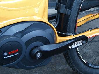 Der Bosch Mittelmotor Bosch Active hat sich bereits bei vielen Corratec E-Bikes bewährt und wurde daher auch im LifeBike eingebaut.