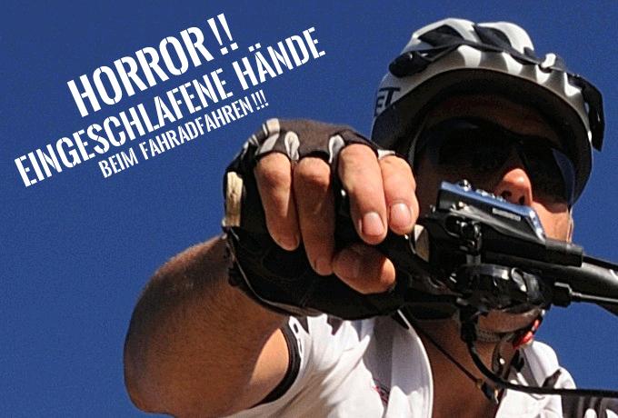 Eingeschlafene Hände beim Fahrradfahren: nie wieder!!!