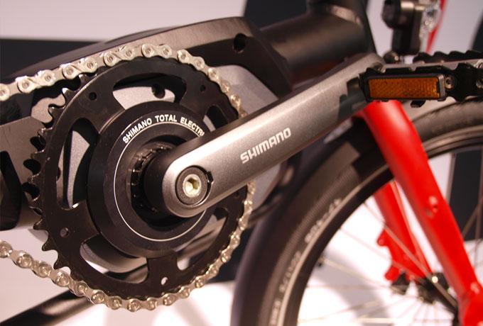 Neu am Kettwiesel ist der Shimano-Tretlagermotor Steps, der sich unauffällig in das Design des E-Trikes integriert.