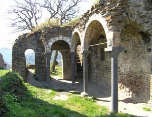 Die Burg Are wurde im 12. Jahrhundert erbaut und steht noch heute für Besichtigungen offen.