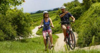 Elektrofahrrad auf Weinerlebnistour: Mit dem E-Bike durch Sachsens Weinberge