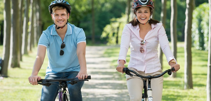 Fahrrad Gabel: Nachlauf messen