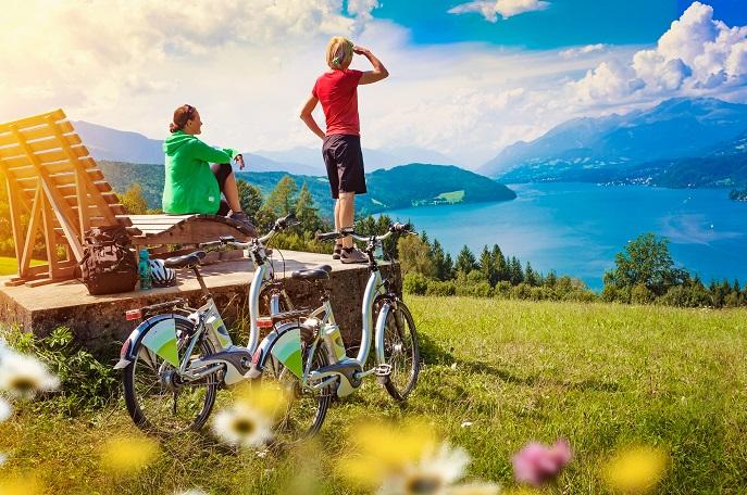 Nicht nur das Herren Elektrofahrrad erweist sich daher seit einigen Jahren schon als Verkaufsrenner, auch für die Damen hat das elektronisch angetriebene Fahrrad seine Reize. (#01)