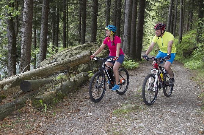 Bei diesem Kettler-Modell gibt es – wie bei fast allen Trekkingrädern üblich – zudem zwei Handbremsen, von denen eine auf das Hinter- und eine auf das Vorderrad einwirkt. (#03)