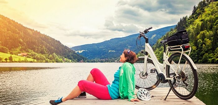 Nichts für Herren: Elektro Fahrrad nur für Damen!