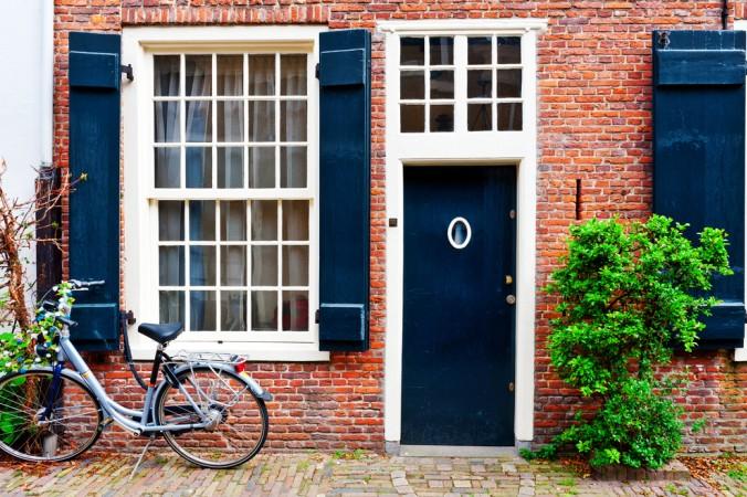 Typisch für Holland sind die wunderschönen Backsteinhäuser, diese gibt es auch in Millingen zu bewundern (#1)