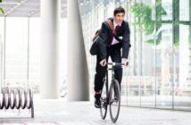 Das Fahrrad als gesunde Alternative zum Dienstwagen