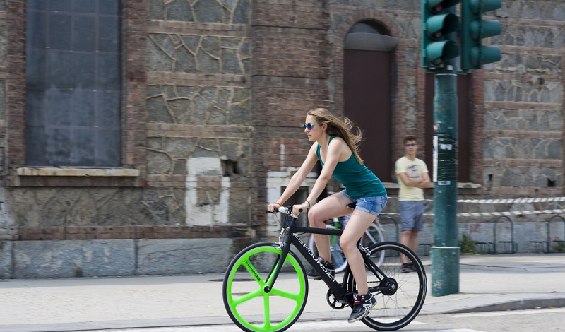 Auch in der Stadt freut man sich über motorisierte Hilfe. (#2)