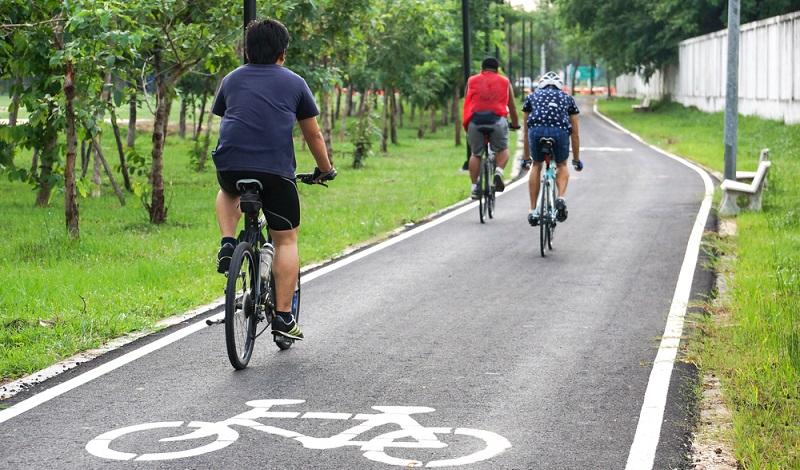 So soll es sein: Ein Radweg, der ausschließlich von Radlern frequentiert wird. (#1)