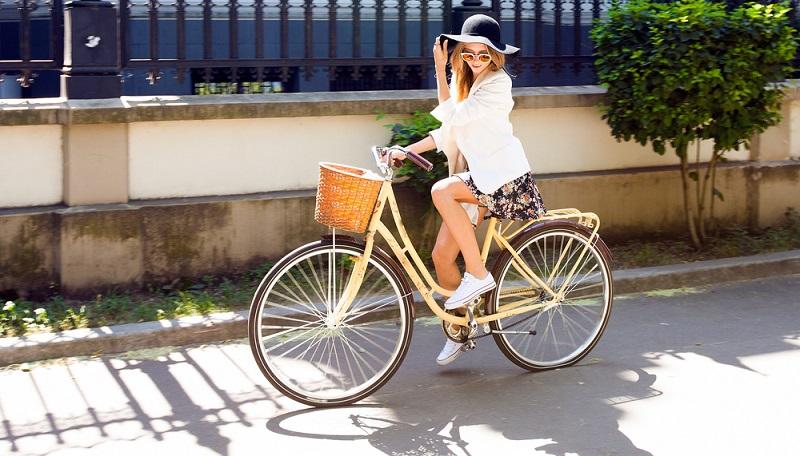 Das Cityrad ist dafür gemacht, in der Stadt unterwegs zu sein.