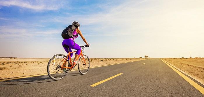 Der Road One Rucksack taugt nicht nur für das Rennrad