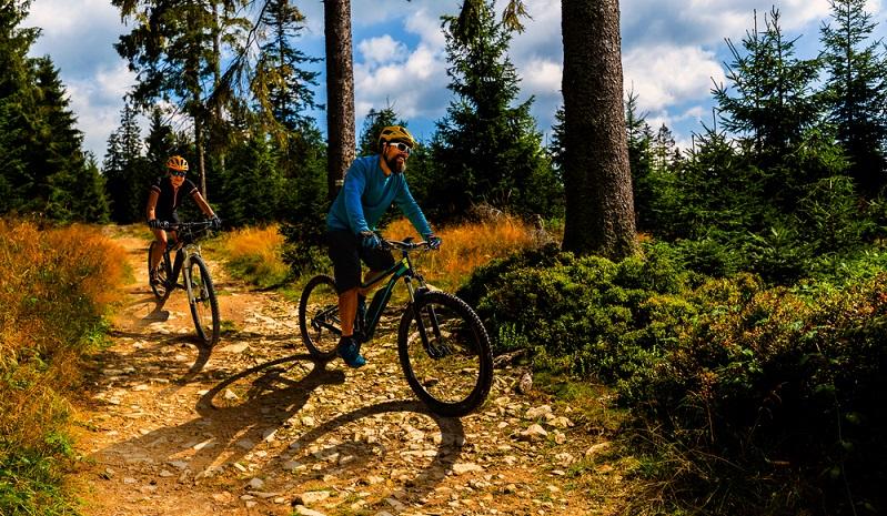 Ein E-Mountainbike ohne eine gute Bremse geht nicht. (Foto: Shutterstock-gorillaimages)